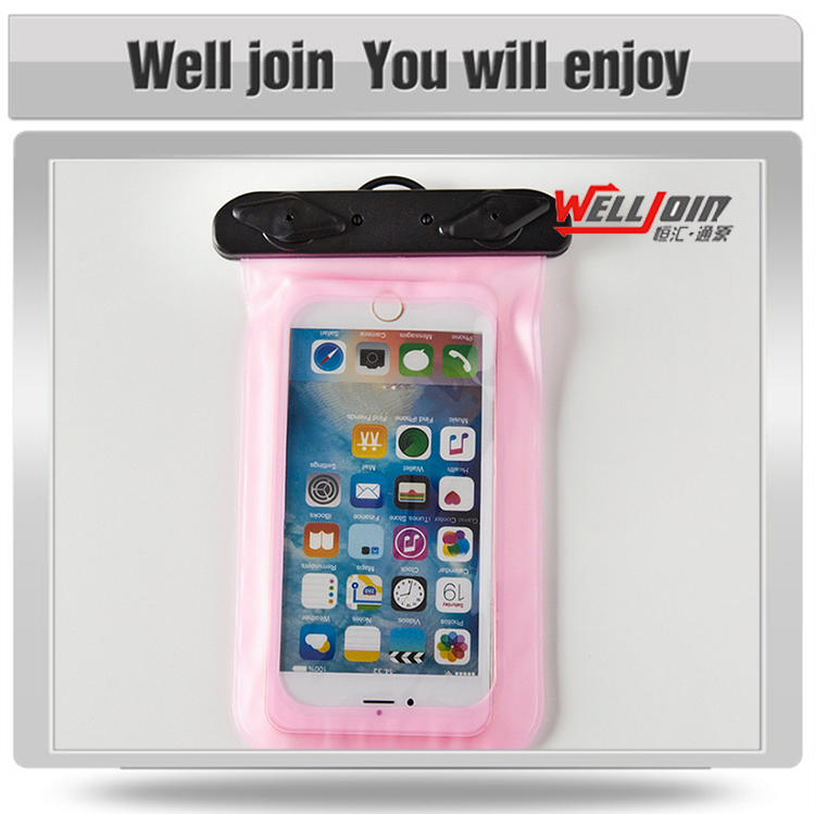 For iphone pvc phone waterproof case/mobile phone waterproof bag
