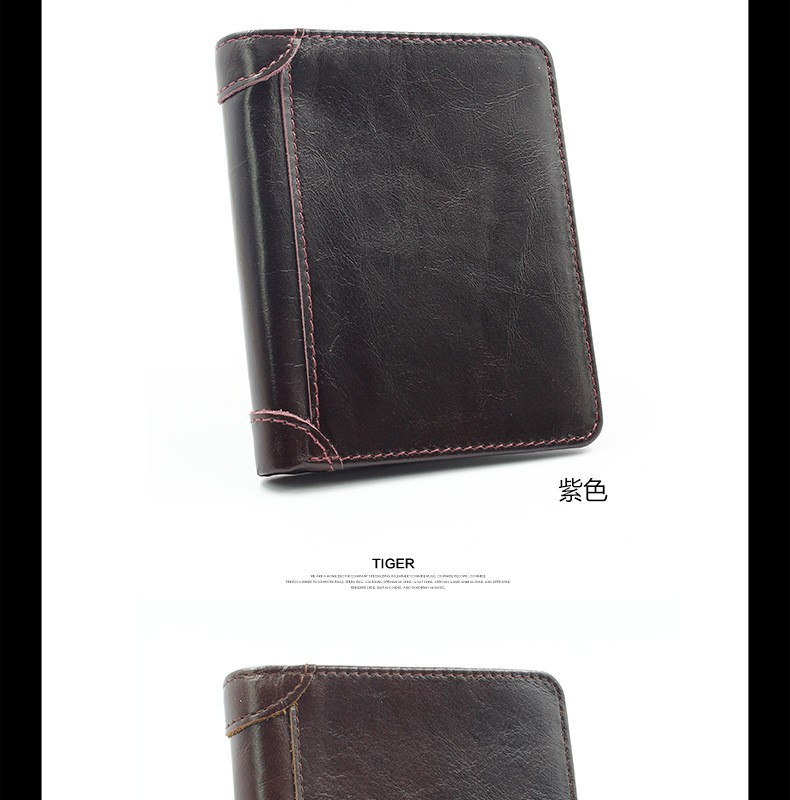 Genuine Leather Wallet Handcrafted luxury Wallet handbag