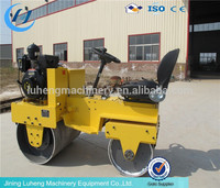 High quality diesel engine walk behind double drum road roller capacity (FYL-S600C)