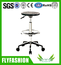Adjustable Laboratory Chair furniture,Laboratory Equipments With Feet Ring