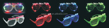 light up Shutter Glasses Stronger Shades Glowing Dark Retro New Year Party Rave Club
