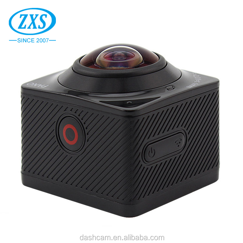 360 Degree Panoramic HD Camcorder 360 WiFi Mini Sport Action Camera
