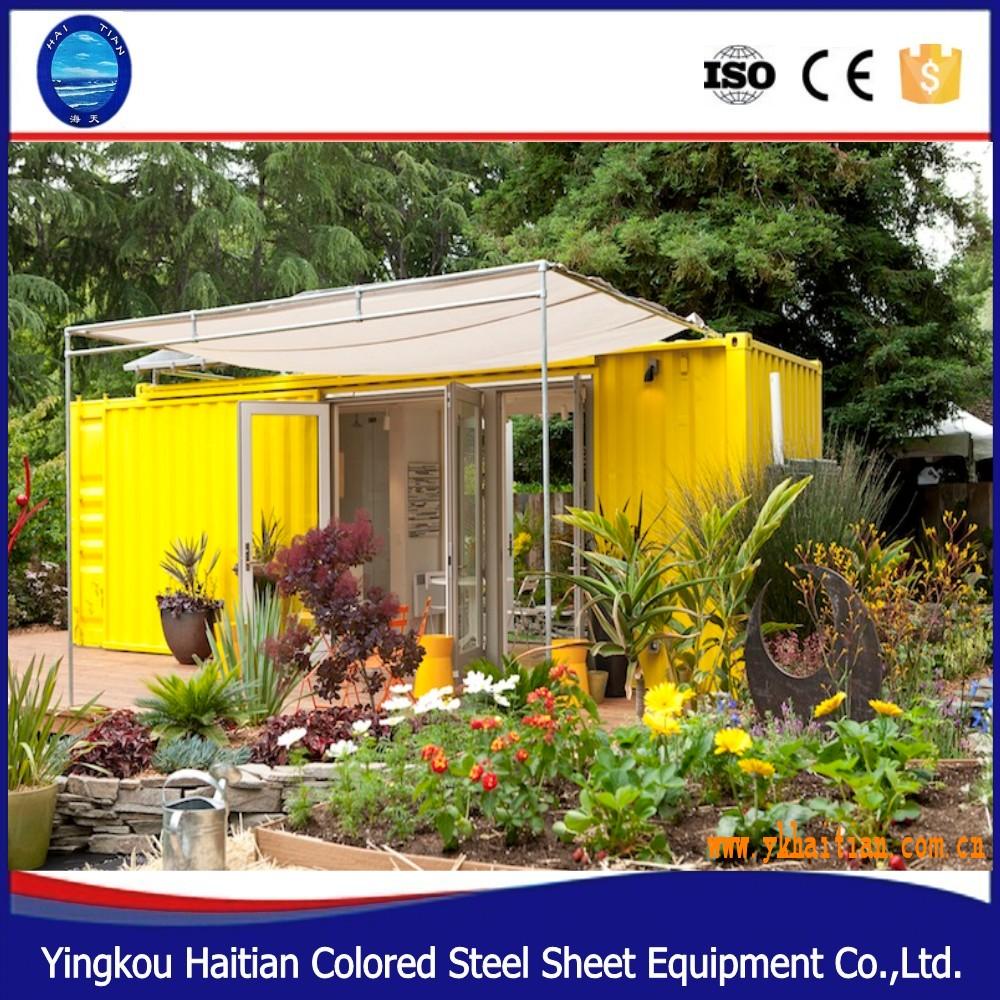 Prefabbricate moderne case container europeo casa prefabbricata usata prezzi altri macchine - Casa container prezzo ...
