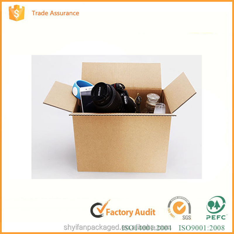 China OEM logo printing Corrugated shipping box manufacture with packaging solution and box design