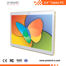4500mah 9.6 inch 4g tablet pc 4g lte android 5.1 quad core 9.6 inch tablet pc 9.6 inch mediatek tablet pc
