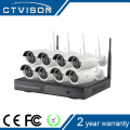 8ch cheap wifi ip camera with nvr kit for home security system