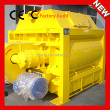JS Series Large Capacity Multifunctional Industrial Electric Double Shaft Ready Mix Concrete Mixer For Sale In Canada