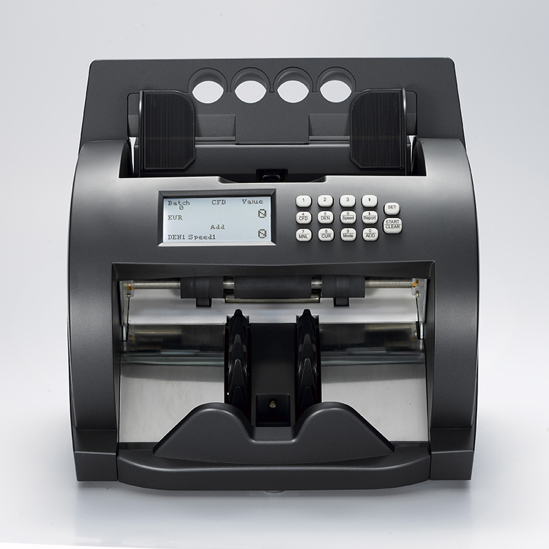 EC1000 intelligent banknote counter multi banknote counter currency discriminator counter