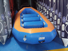 10 persons inflatable raft 4.3m folding boat with CE approved