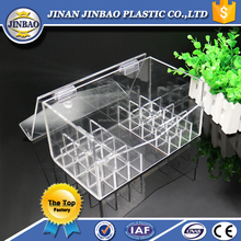 jinbao factory clear display stands acrylic flower box