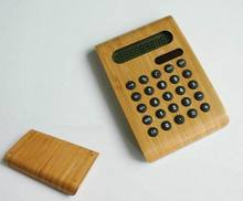 Wooden calculator,10 digits display