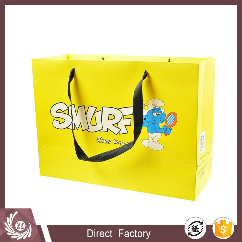 custom printed paper bags no minimum, luxury washable paper bag printing