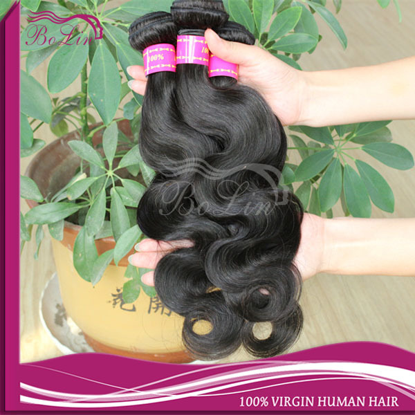 Hot New Products 2014 Virgin Human Hair Wholesale Price No Chemical Cuticle body wave 24 Inch Virgin Remy Brazilian Hair Weft