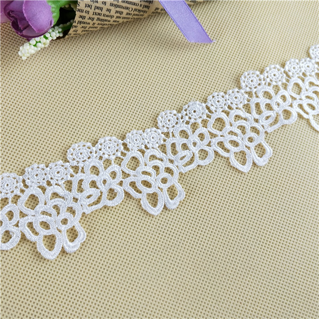 2017 Decorative Crochet Lace Trim and Polyester Cotton Lace Wholesale