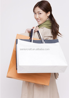 Luxury shopping packing paper custom bags