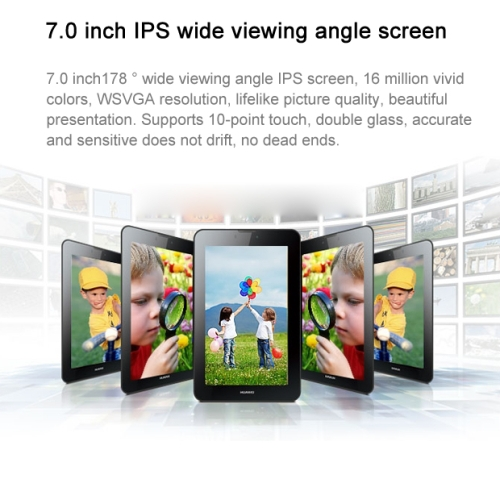 Original Huawei S7-601U MediaPad 7 Vogue 7.0 Inch IPS Screen Android 4.1 3G Phone Call Tablet PC