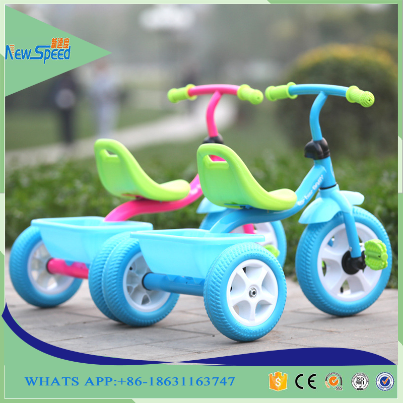 Newest design baby trikes training baby bike toy 2016 new model plastic tricycle kids bike