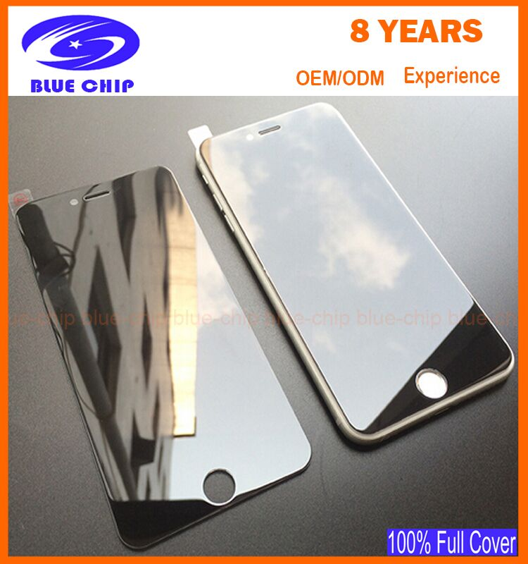 Newest top Screen Protector high transparent privacy tempered glass for iphone 6