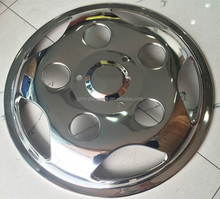 17.5 inch 304 stainless steel wheel cover for Toyota coaster