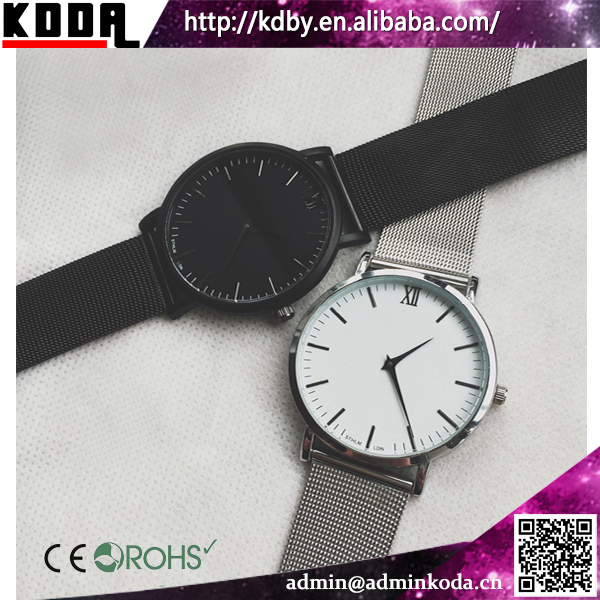 Watch Manufacture China Wholesale Custom Mesh Band Alloy Premium Watches