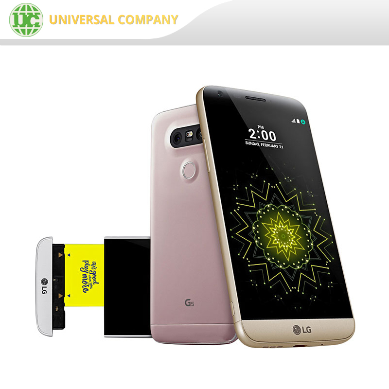 Original LG G5 1440x2560 Mobile Cell Phone 8MP+16MP Fingerprint unlocked 4g smartphone