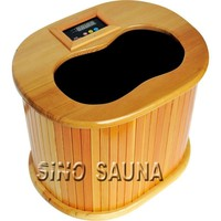 New Winter Warmful Detox Foot Spa Infrared Sauna Barrel with Foot Massager (CE/RoSH/ISO)