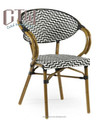 Outdoor bamboo look coffee chair outdoor coffee chair on sale
