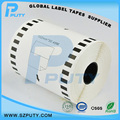 Compatible Continuous Thermal Paper DK-22243 Sticker Labels DK22243 for Brother 102MM*30.48m Black on white