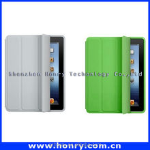 Fashion leather case for ipad 2 3, for ipad leather case with high quality