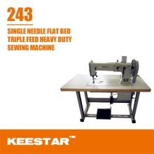 Keestar 243 walking foot single needle sewing machine