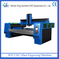 Auto change tools Glass engraving and polishing machine for mirrow and glass design hot sale in glass industry