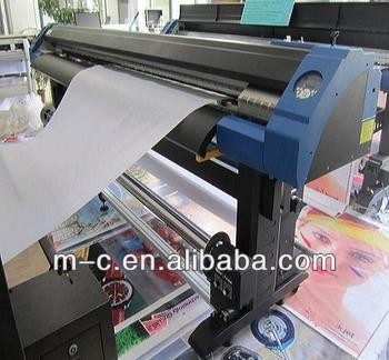 Printer for pvc printing ceiling film