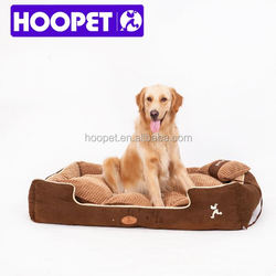 Pet bed Suede Fabric large dog kennel