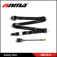 Universal static simple polyester car safety belt /auto friend safety belt