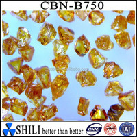 Industrial amber CBN powder for making cbn lapping band