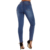 2019 Factory Wholesale Custom Colombian Blue Denim Destroyed High Waist Skinny Jeans