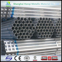 seamless hot dipped galvanized steel pipe price /hot rolled steel pipe/China supplier