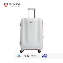 Zhejiang Factory Wholesale Aluminum Frame Suitcases Luggage With 4 Wheels