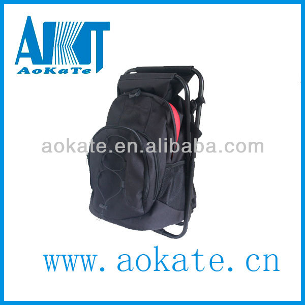 convenient and comfortable stool backpack for fishing tackle