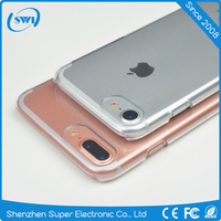 Wholesale Clear Mobile Phone Hard Plastic Case for iPhone 7 7 plus,Transparent Cell Phone PC Back Cover Case for iPhone 7 7 Plus