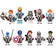 marvel endgame blocks superes heroes building block toys compatible block toys