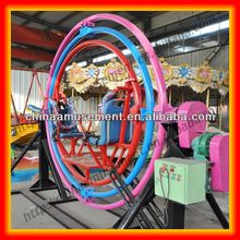 Amusement park games factory electric gyroscope human