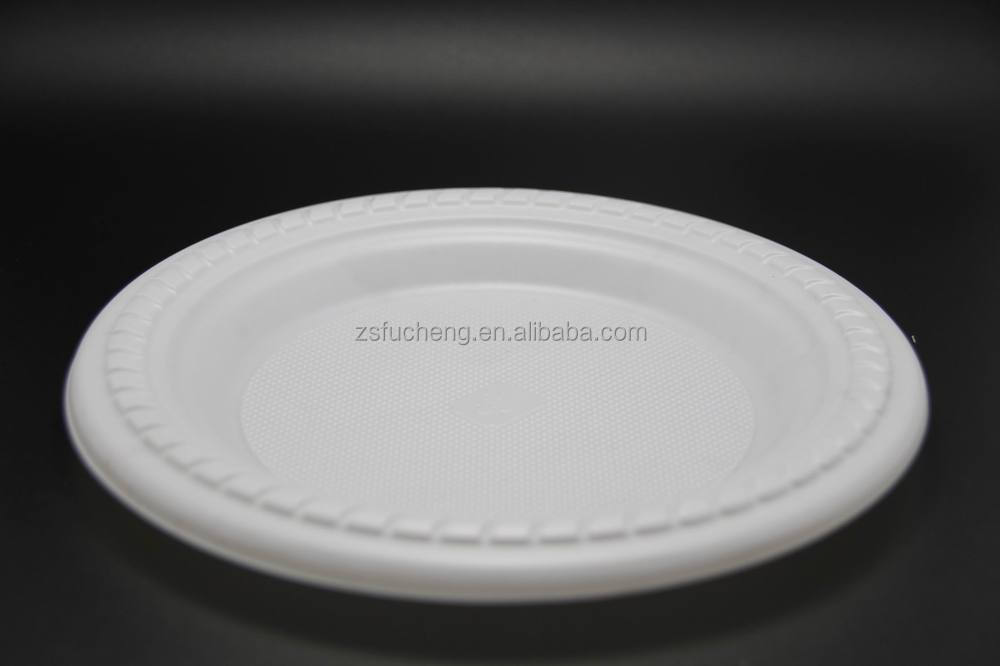 High quality Disposable Plastic plates for wedding/ restaurant