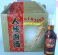 Ginseng Juice Wine