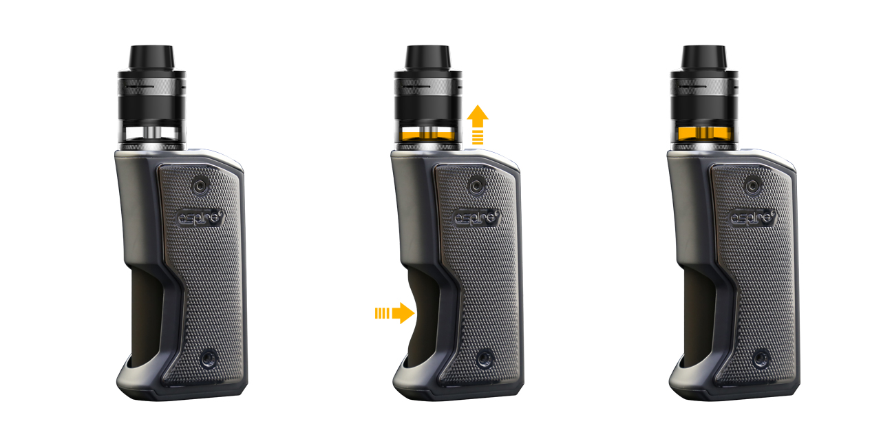 2018 New Arrival Products Aspire Feedlink 7ml Squonk BF Box Mod