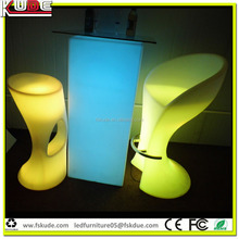 custom made nightclub luxury LED furniture lighting from Foshan bar counter for sale