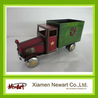 Handmade Antique Metal Truck Model Christmas Ornament