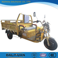 Daliyuan electric cargo 3 wheel cargo tricycle china 3 wheel motor tricycle