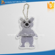 Light Keychain Type and Paper,PU,Leather,PVC Rubber,Metal,Fabric,Reflective Material,Plastic,PVC Material Reflective Tag