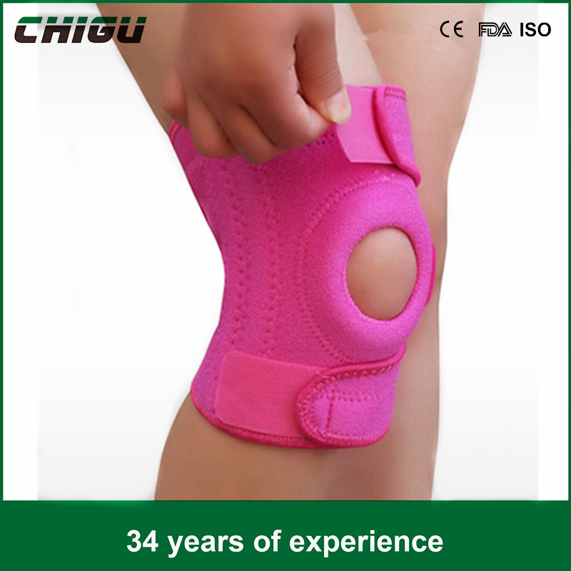 free sample Neoprene And Nylon Breathable Knee Brace Adjustable Knee Support